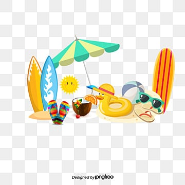 summer beach elements, Summer Beach Elements, Summer, Beach PNG and PSD