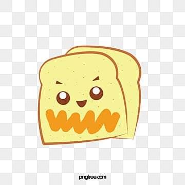 خبز توست كرتون