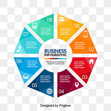 business information schematic diagram, Business, Information, Colorful PNG and PSD
