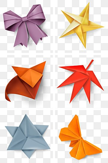 Gradient Origami Animals Pack - Vector download | 405x268