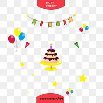 birthday elements, Birthday Clipart, Birthday Elements, Cake PNG and PSD