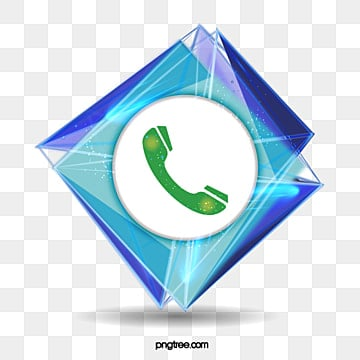 Phone logo, Bright, Mark, Color Block PNG and PSD