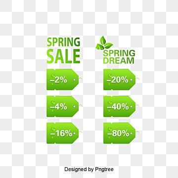 Vert de l'étiquette,Le printemps de l'étiquette,Le ressort d'étiquette,Promotion, Les étiquettes, Le Vert De Vente D'étiquettes, Au PrintempsPNG et vecteur