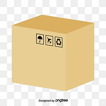 cardboard box png. closed cardboard box paper big carton png and vector png c