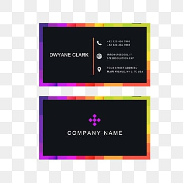 business card, Business Card, Business Card Template, Color PNG and PSD