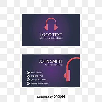 Dj business card png images vectors and psd files free download business card template business card business card template headset png and vector cheaphphosting Gallery