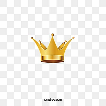 Golden Crown, Imperial Crown, Gold Crown, Stereo Crown PNG and Vector