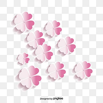 three dimensional vector floral material, Floral Vector, Pink, Three-dimensional PNG and Vector