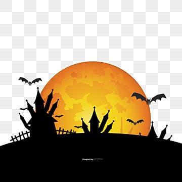 Halloween, Halloween, Background, Room PNG and Vector