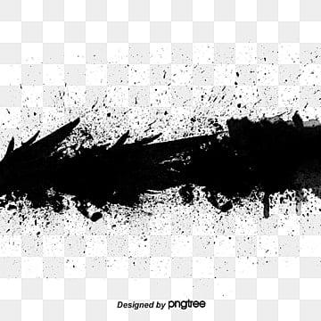эффект чернил кисти, чернила, Щетка, акварель PNG и PSD