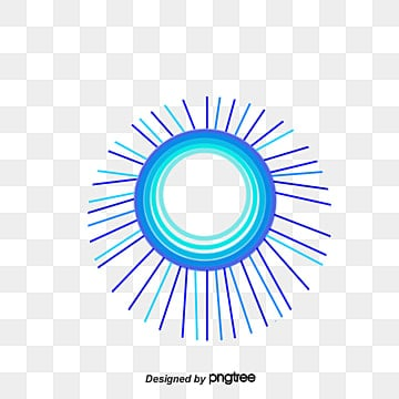 The sun emits lines, Golden Sun, Emission Lines, Decorative Elements PNG and Vector
