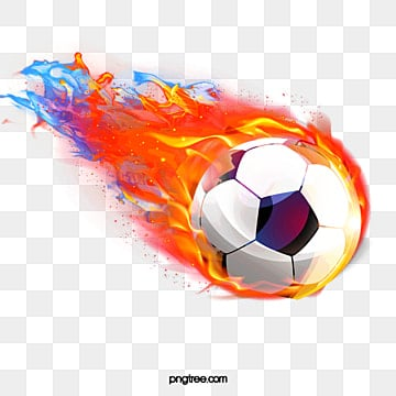 football, Football, Flame, Movement PNG Image