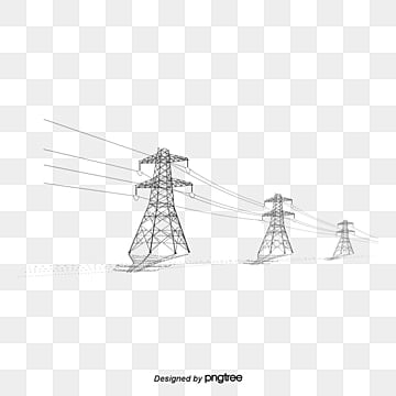 telephone pole, Telephone Pole, High-tension Line, Pressure Column PNG and PSD