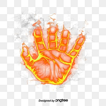 Flame Hand, Flame, Flames, Fire Effect PNG Image