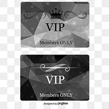 Vip Membership Card Png Images Vectors And Psd Files Free