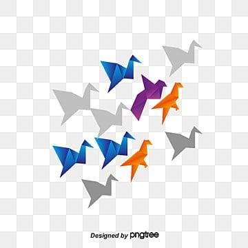 Origami Crane PNG Images