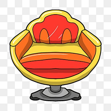 Cartoon Chair, Cartoon Chair, Computer Chair, Office Chair PNG Image And  Clipart