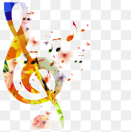 Musica, Color, Musica, Graffiti Imagen PNG