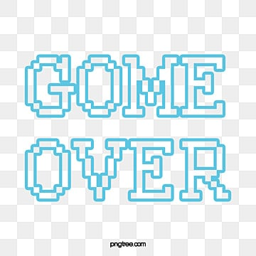 Gameend Game Over Vector PNG And