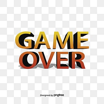 game over png vector psd and clipart with transparent