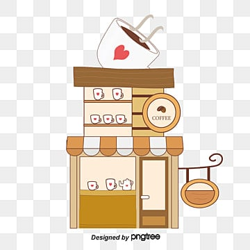 Barber Clipart Coffee Shop Png, Vecto...