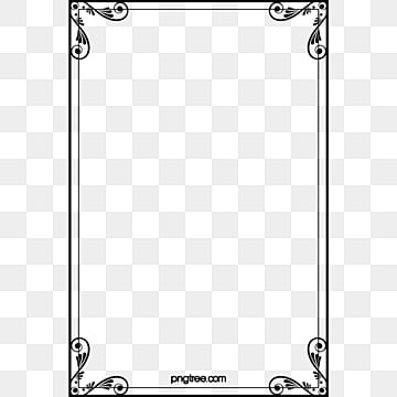 Creative Borders Frame Retro PNG Image And Clipart