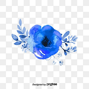 Navy Blue Flower Png Images Vector And Psd Files Free