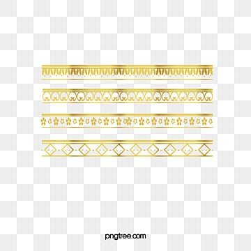 Delicate gold lace border, Delicate Gold Lace Border, Decorative Lace, Luxurious PNG and Vector