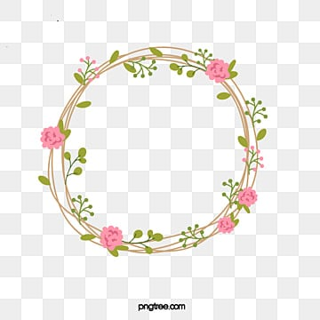 Flower Wreath Png Vectors Psd And Clipart For Free Download Pngtree