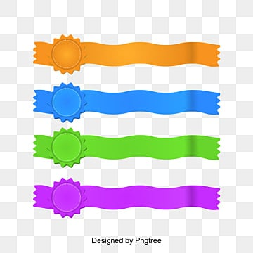 TEAR effect, Paper, TEAR Effect, Colored Ribbon PNG and PSD