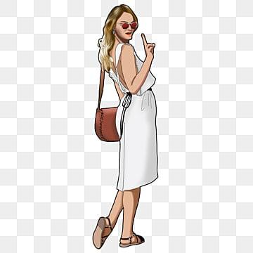 Modelo Mujer Png Vectores Psd E Clipart Para Descarga