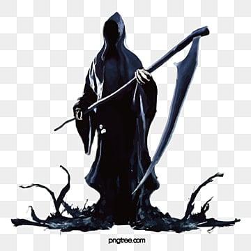 Halloween, Ghost, Black, Terror PNG Image