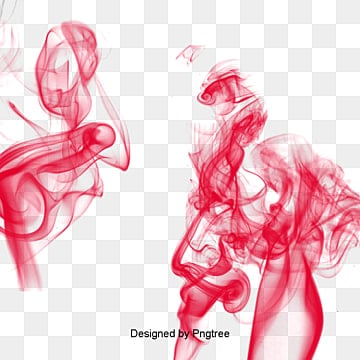 Red smoke effect Free PNG and PSD