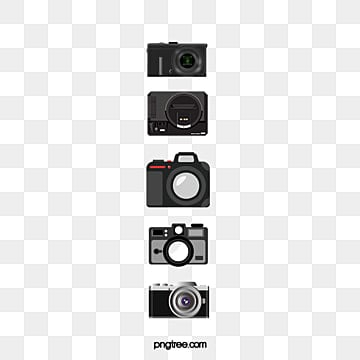 Camera Clipart Hand Painted The White PNG Image And