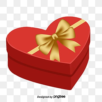 Heart Shaped Gift Box PNG Images | Vectors and PSD Files | Free ...