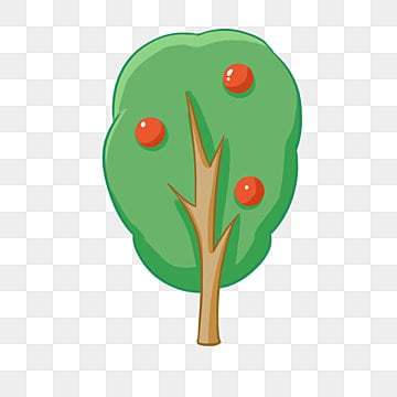 Hand Painted Tree Clipart Trees PNG Image And