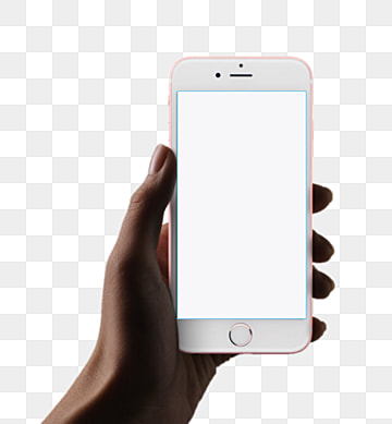Phone Template Cellphone Screen Arm PNG Image