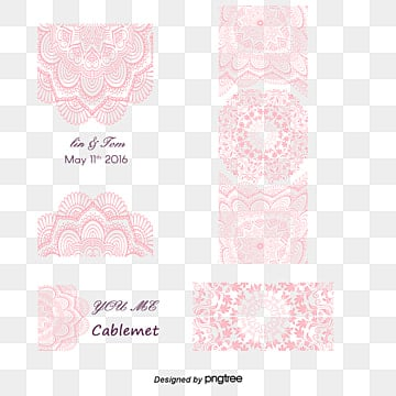 romantic wedding invitation pink pattern, Wedding Clipart, Romantic, Wedding Invitation PNG and Vector