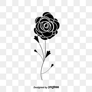 White rose png images vectors and psd files free download on pngtree black and white pattern of roses black white roses png image and clipart mightylinksfo