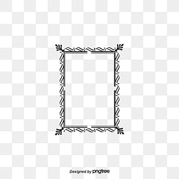 frame black border frame line png image and clipart