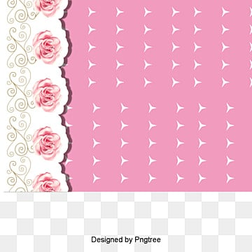 Rose lace flower frame shading, Vector, Pink Greeting Cards, Wedding Invitations PNG and Vector