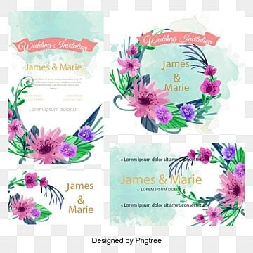 Wedding invitations, Flowers, Card, Wedding PNG and Vector