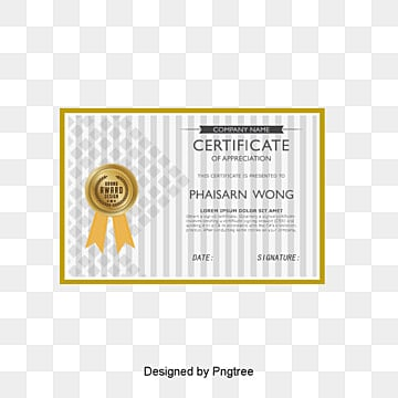 Certificate Design Png, Vectors, PSD, and Clipart for Free Download ...