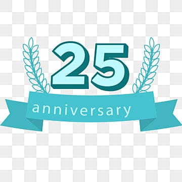 25th Anniversary Png Images Vectors And Psd Files Free Download On Pngtree