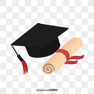 graduation season element, Graduation Season Element, Bachelor Cap, Transcripts PNG and PSD