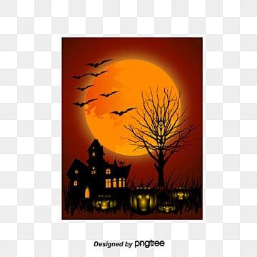 Funny Halloween, Halloween, Night, Devil Pumpkin PNG and Vector