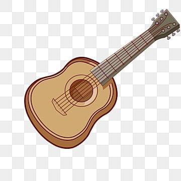 Guitar Vector, Wooden Guitar, Guitar Physical, Guitar PNG Image