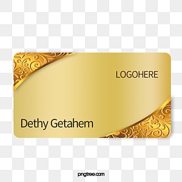 Golden elements pattern cards, Phnom Penh, Gold Pattern, Business Card PNG and PSD