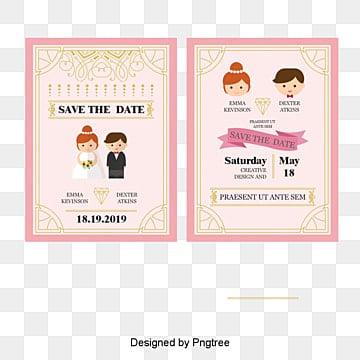 Invitation de mariage de vecteur, Le Dessin Des Invitations De Mariage, Belle Nouvelle Invitation, Le Mariage InvitationPNG et vecteur