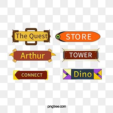 Jogos de jogos online Jogo de botões interativos., O Jogo, UI UI, DesignPNG e Vector